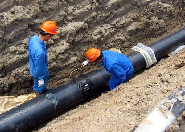 HDPE管材施工案例